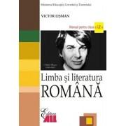 Limba si literatura romana. Manual clasa a XII-a