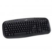 Tastatura cu fir Genius KB-M200, USB, Negru