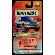 Matchbox 1998-14/75 Big Movers ORANGE Bulldozer 1:64 Scale