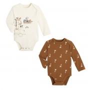 Petit Béguin Lot de 2 bodies bébé garçon manches longues Baby Club - Taille - 18 mois