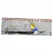 Kit reparatie Mecanism ridicare geam fata Renault Megane 1 4/5 Usi 95-02 Megane Scenic JA0/1 electrica dreapta (cablu role si suport geam)