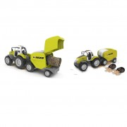 Road Rippers Autocarro Tractor + Baler 21712
