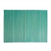 Dille&Kamille Set de table, bambou, vert céladon, 33 x 47 cm
