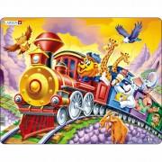 Puzzle Larsen Trenul circului, 30 piese