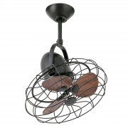 Keiki ceiling fan with a retro look