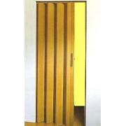 Kasko Shrnovací dveře plastové do 95x200cm bez prosklení imitace dřev