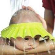 Futaba Adjustable Baby Shower Shampoo Cap - Yellow