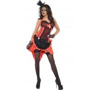 Costum carnaval Femei Burlesque Piersica