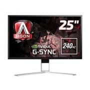 """AOC AGON AG251FG 24.5"""" Full HD TN Nero, Rosso monitor piatto per PC"""