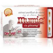 Extract purificat de rasina mumie cu ginseng-capsule 30cps DAMAR