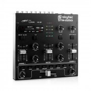 Skytec STM-2250 Mesa de mezclas de 4 canales USB SD (Sky-172.979)