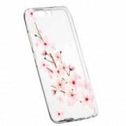 Husa Silicon Transparent Slim Spring Flower Huawei Nova 2 Plus