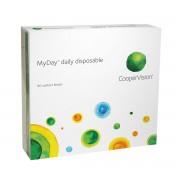 CooperVision MyDay journalières 90 lentilles de contact CooperVision -0.75 Stenfilcon A II 4