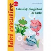 Animalute din globuri de hartie. Idei creative 116