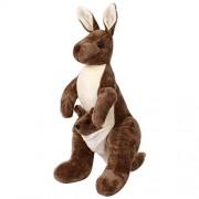 IndiPlay Mother and Baby Kangaroo , Brown