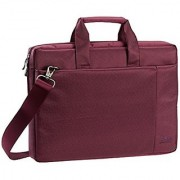 Rivacase 15.6 inch Stylish Laptop Shoulder Bag w/Padded Compartment - Violet