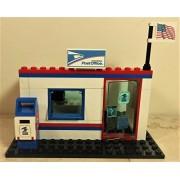 Lego Custom City USPS Postal Service POST OFFICE. Ready to Play!