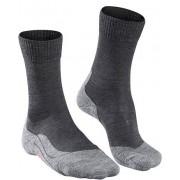 Falke Socken Herren, Schurwolle, grau