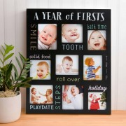 Pearhead Chalkboard Frame Baby's Firsts