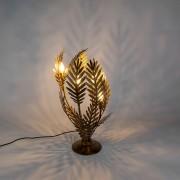QAZQA Vintage Bordslampa Stor Guld - Botanica