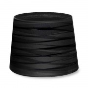 LEDS-C4 Lighting Relooker conique rond finition noire texturée ombre
