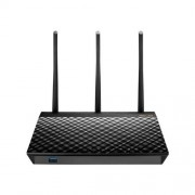 Asus WiFi router Asus RT-AC66U Dual-Band Wireless 802.11ac-AC1750 Gigabit R