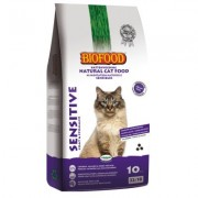 Biofood Sensitive - Coat/Stomach Kattenvoer - Dubbelpak: 2 x 10 kg