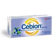 Dompe' Farmaceutici Spa Cebion Masticabile Mirtillo Vitamina C 20 Compresse