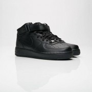 Nike Air Force 1 Mid 07 In Black - Size 42.5