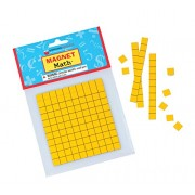 Dowling Magnets Magnetic Base Ten Kit - Grades K-3 Set of 4 Base Ten Whole Sheets