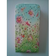 Fashion case кожен калъф за HTC One mini (M4) 02