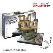 CubicFun Puzzle 3D Tancuri rusesti Soviet T34/85