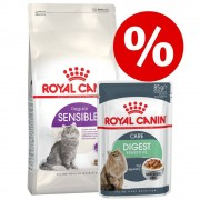Royal Canin Breed Blandpack: 4 kg Royal Canin + 24 x 85 g vtfoder - British Shorthair Adult + Intense Beauty i ss