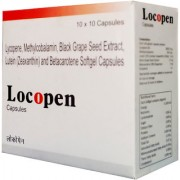 LOCOPEN ANTIOXIDENT-100 CAPSULE BLACK GRAPE SEED EXTRACT BY GRAPPLE LIFESCIENCE