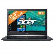 Acer laptop Aspire 7 A717-72G-78UG zwart