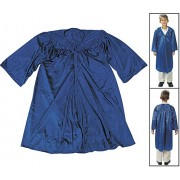 Child Blue Robe (One Size Fits up to Childs Size 8) Polyester