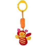 Бебешка плюшена играчка за количка - калинка, 1176 Babyono, 9070086