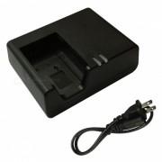 Cargador de bateria ismartdigi LPE17 y cable de cargador de EE. UU. para Canon LPE17 EOS M3 750 760 800 77D M6 LC-E17-negro
