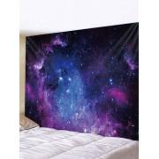 Rosegal Tapisserie Murale Art Décoration Pendante Galaxie Univers Imprimée Largeur 59 x Longueur 51 pouces