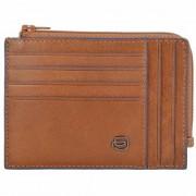 Piquadro Blue Square Special Porte-cartes de crédit RFID cuir 12,5 cm