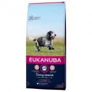 Eukanuba Caring Senior Medium Breed au poulet pour Chien 3 x 3 kg