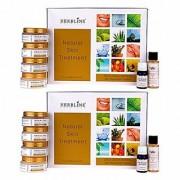 Herbline Gold Crush Saffron Skin Rejuvenator System 180gm-Pack Of-2