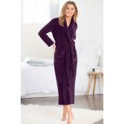 Womens Mia Lucce Luxury Robe - Soft Pink Sleepwear Nightwear