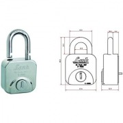 Link HI-Tech Lock Square57 9 Pin Stainless Steel by SmartShophar