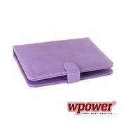 "WPOWER 9"" Billentyűzetes Tablet tok, lila, EN-HU"