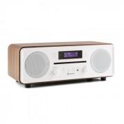 Auna CD CD DAB Melodia + / FM Desktop Radio CD Player Bluetooth Alarmă nuc (KS2-Melodia CD WD)