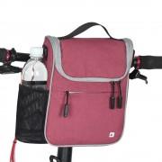 RHINOWALK RK18995 Large Capacity Multifunctional Bike Handlebar Bag Bicycle Front Bag - Rose