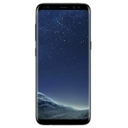 Samsung Galaxy 64 GB desbloqueado teléfono - visualización de 6.2in - US versión (Midnight negro) (Renewed), Sólo dispositivo, Galaxy S8, Negro