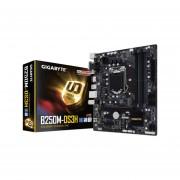 T. Madre Gigabyte GA-B250M-DS3H, ChipSet Intel B250, Soporta, Core i7/i5/i3/Pentium de Socket 1151, Memoria, DDR4 2133 MHz, 64GB Max, Integrado, Audio HD, Red, USB 3.0 y SATA 3.0, Micro ATX, Ptos, 1xPCIEX16, 2xPCIEX1