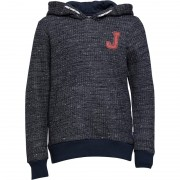 JACK AND JONES Junior Time Hoodie Total Eclipse
